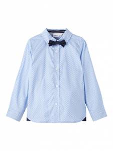 Bilde av Pen skjorte Riza dusty blue mini