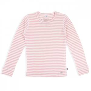 Bilde av LL Ull topp rosa striper