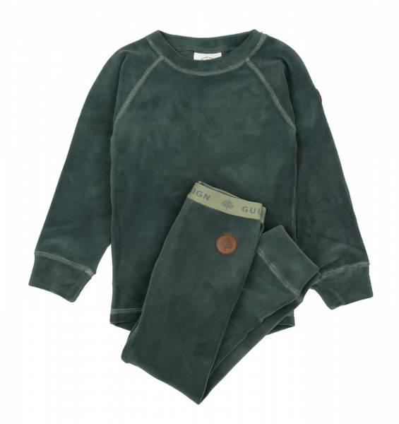 GK Jona fleece-sett gråblå