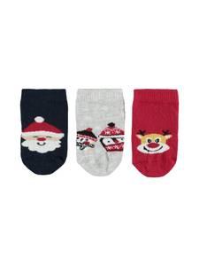 Bilde av Jul 3 pk sokker nb