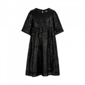 Bilde av Creamie Kjole sequins black